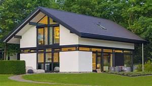Haus Mit Satteldach : moderndes fachwerkhaus hausbeispiele auf anschauen ~ Watch28wear.com Haus und Dekorationen