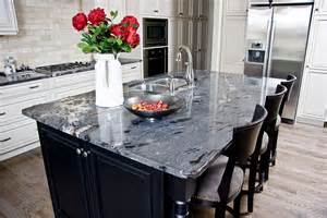 black granite kitchen island granite countertops calgary quartz dauter inc