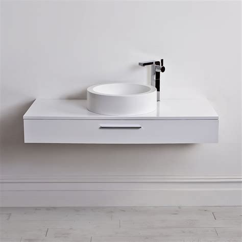 wall mounted vanity lusso edge slim drawer wall mounted bathroom vanity