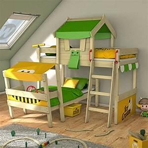Doppelbett Für Kinder : gr n hoch etagenbetten und weitere betten g nstig ~ Lateststills.com Haus und Dekorationen