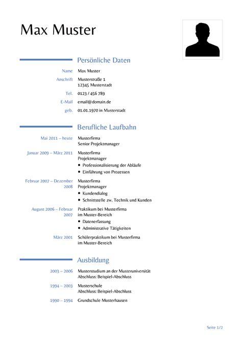 Lebenslauf Formular by Lebenslauf Formular Zum Ausdrucken Lebenslauf Beispiel