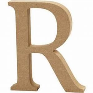 Mdf Wooden Letter R 13 Cm Hobbycraft
