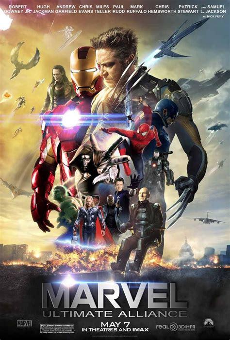 Fantastic 'Marvel: Ultimate Alliance' fan poster. | Marvel ...