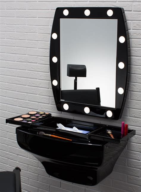 Mcw Shiny Black Wallmounted Makeup Station. Impera Modern Contemporary Lacquer Platform Bed. Bluestone Pavers. Hammered Cabinet Pulls. Upholstered Counter Height Stools. Engineered Quartz Countertops. Copper Side Table. Rustic Sinks. Craft Room Ideas
