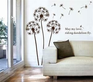 Sticker Für Die Wand Kinderzimmer : wandtattoo l wenzahn im wind pusteblume ~ Michelbontemps.com Haus und Dekorationen