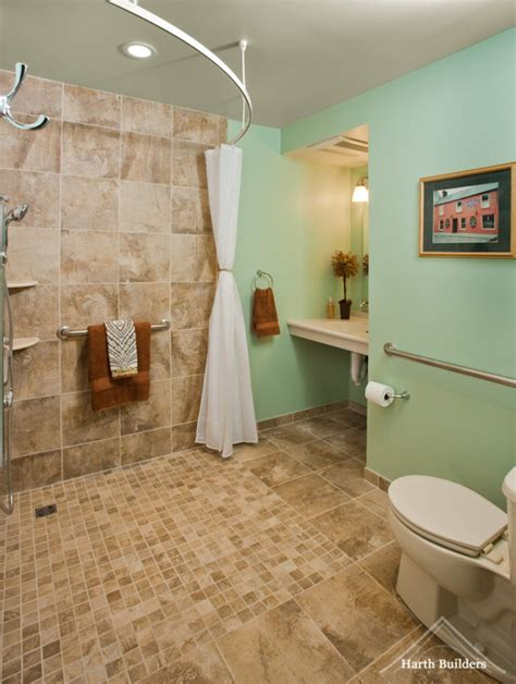 accessible bathroom design accessible shower room image harth builders cool