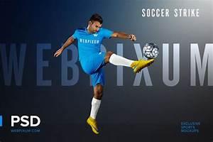 Soccer Strike Psd Mockup Template  Creativework247