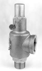 RXSO-S Stainless Steel Safety Relief Valves On Circle