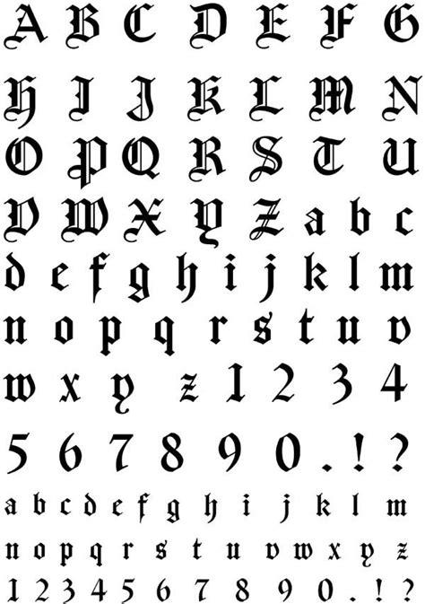 ideas  gothic fonts  pinterest black