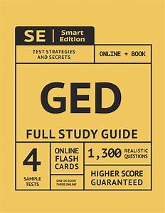 Ged Full Study Guide  Test Preparation For All Subjects