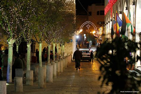 christmas cheer in bethlehem middle east monitor