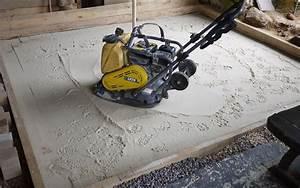Pose Dalle Beton Sur Sable : pose de dalles exterieur sur sable ~ Nature-et-papiers.com Idées de Décoration