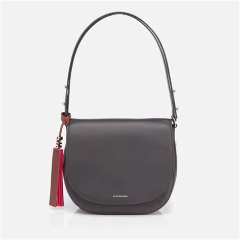 Ps By Paul Smith Cat Crossbody Bag ps by paul smith s ps leather saddle bag black