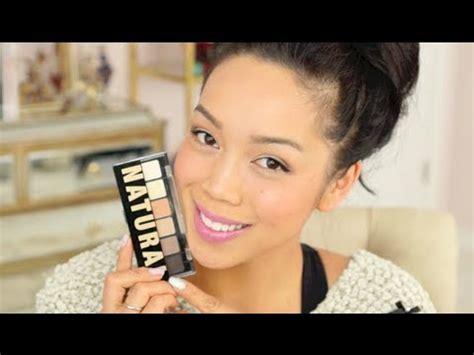 nyx natural palette makeup tutorial itsjudytime