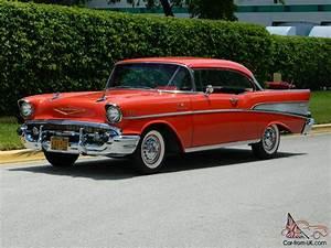 Chevrolet Bel Air 1957 : 1957 chevrolet bel air coupe fuelie 2 door factory fuel injection matador red ~ Medecine-chirurgie-esthetiques.com Avis de Voitures