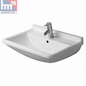 Waschbecken Mit Halbsäule : duravit starck 3 waschtisch waschbecken 65 x 48 5 cm 0300650000 optional mit halbs ule ~ One.caynefoto.club Haus und Dekorationen
