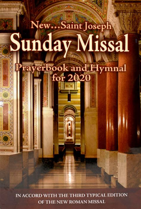 sunday missal prayerbook   year  comcentercom