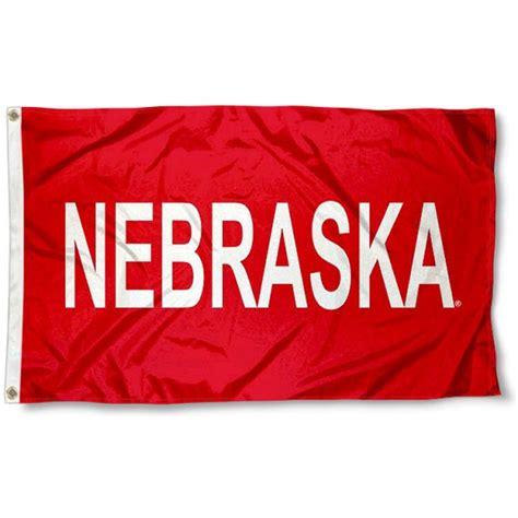 university  nebraska flag  university  nebraska