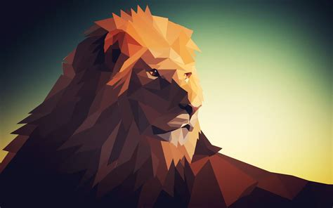 Low Poly Animal Wallpaper - low poly by masternatho on deviantart