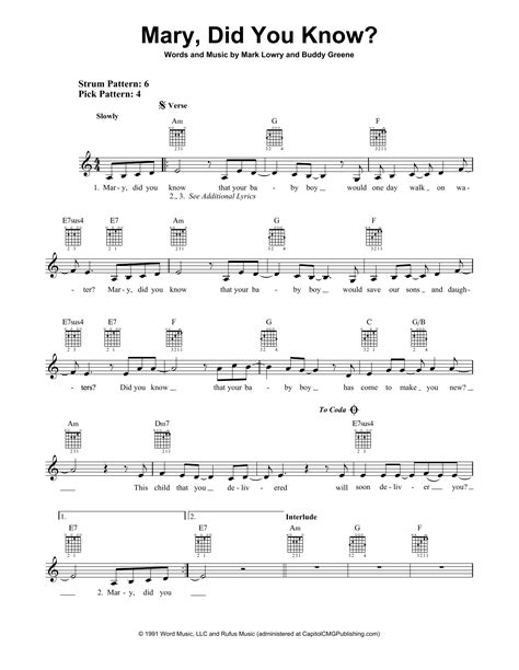 Digital sheet music for beauty and the beast by alan menken, howard ashman scored for easy piano/vocal/chords; Mary, Did You Know? Sheet Music | Mark Lowry | Easy Guitar
