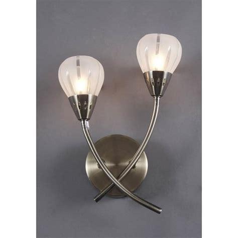 d 228 r d 228 r vil0975 villa 2 light modern wall light acid etched glass antique brass finish wall