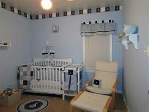 Deco Chambre Bebe Bleu : chambre b b moderne avec d co inspir e par la mer ~ Teatrodelosmanantiales.com Idées de Décoration