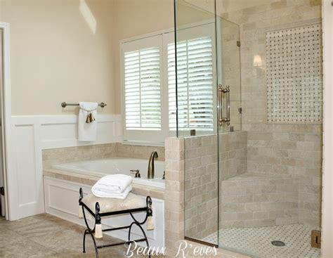 beaux reves glam master bath remodel