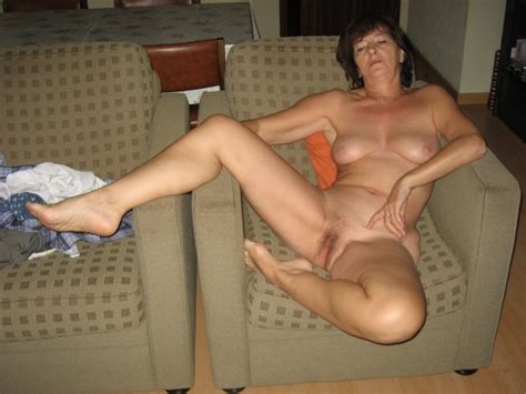 Mature Joëlle Naked On A Sofalegs Open For A Fuck Page