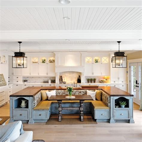 built in kitchen islands kitchen island with built in seating inspirations and