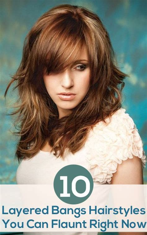 hair styles 17 best ideas about layered bangs hairstyles on 8252