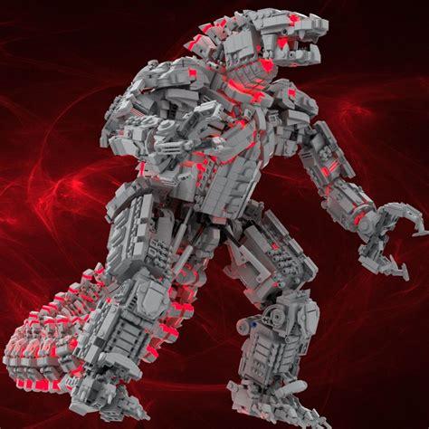 Kong is joining the s.h.monsterarts series! Godzilla vs Kong Mechagodzilla Gets A Custom Made LEGO Remake