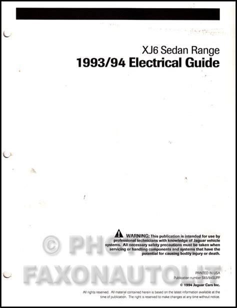 Jaguar Electrical Guide Wiring Diagram