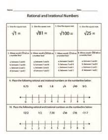 Algebra Tiles Worksheets 7th Grade by Pictures Identifying Rational And Irrational Numbers