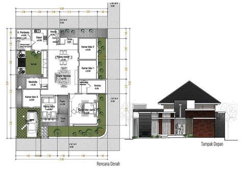 ide desain rumah minimalis  lantai  kamar tidur