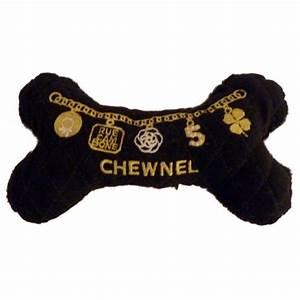 chewnel bone dog toy designer dog toys at glamourmuttcom With luxury dog toys