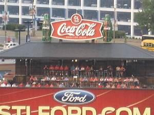 Busch Stadium Coca Cola Rooftop Deck Rateyourseats Com