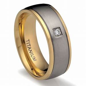 stylish and unique titanium wedding ring With stylish wedding rings
