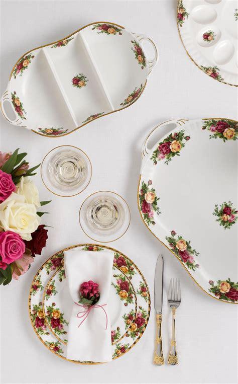pattern country roses selling royal albert china dinnerware porcelain royalalbert standing