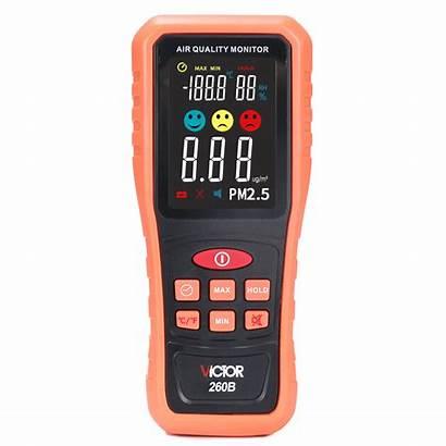 Pm2 Detector Handheld Temperature Range Humidity Measurement
