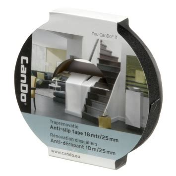 antislip karwei cando traprenovatie tape anti slip zwart 22 mm rol 18 m