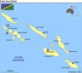 carte g 233 ographique et touristique des iles salomon honiara g 233 ographie des iles salomon