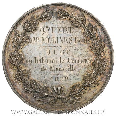 chambre de commerce de marseille médaille grand module chambre de commerce de marseille