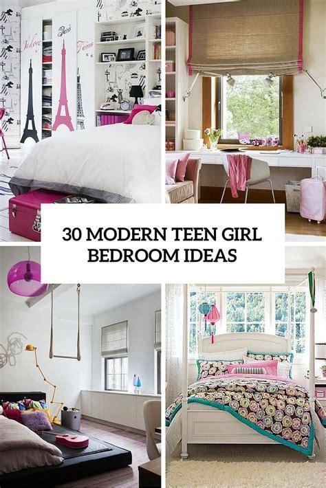 Bedrooms: Contemporary Teenage Girl Bedroom Ideas
