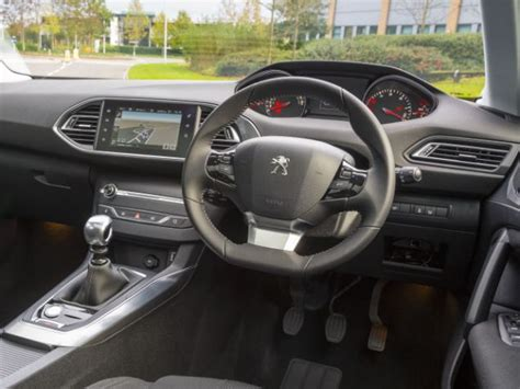 hatchback cars interior peugeot 308 small family hatchback crowned european car of