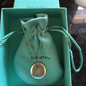 tiffany letter m pendant and necklace initials tiffany With tiffany letters