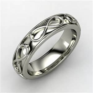 men39s infinity wedding band onewedcom With mens infinity wedding ring