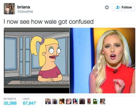 Tomi Lahren Memes - how wale got confused tomi lahren know your meme
