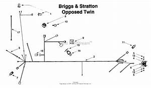 Mtd 13ar608g022  1999  Parts Diagram For Electrical Briggs  U0026 Stratton Opposed Twin