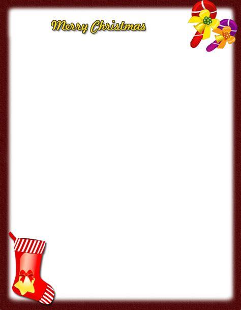 christmas letterheadfree printable christmas