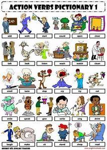 English Vocabulary - Action Verbs